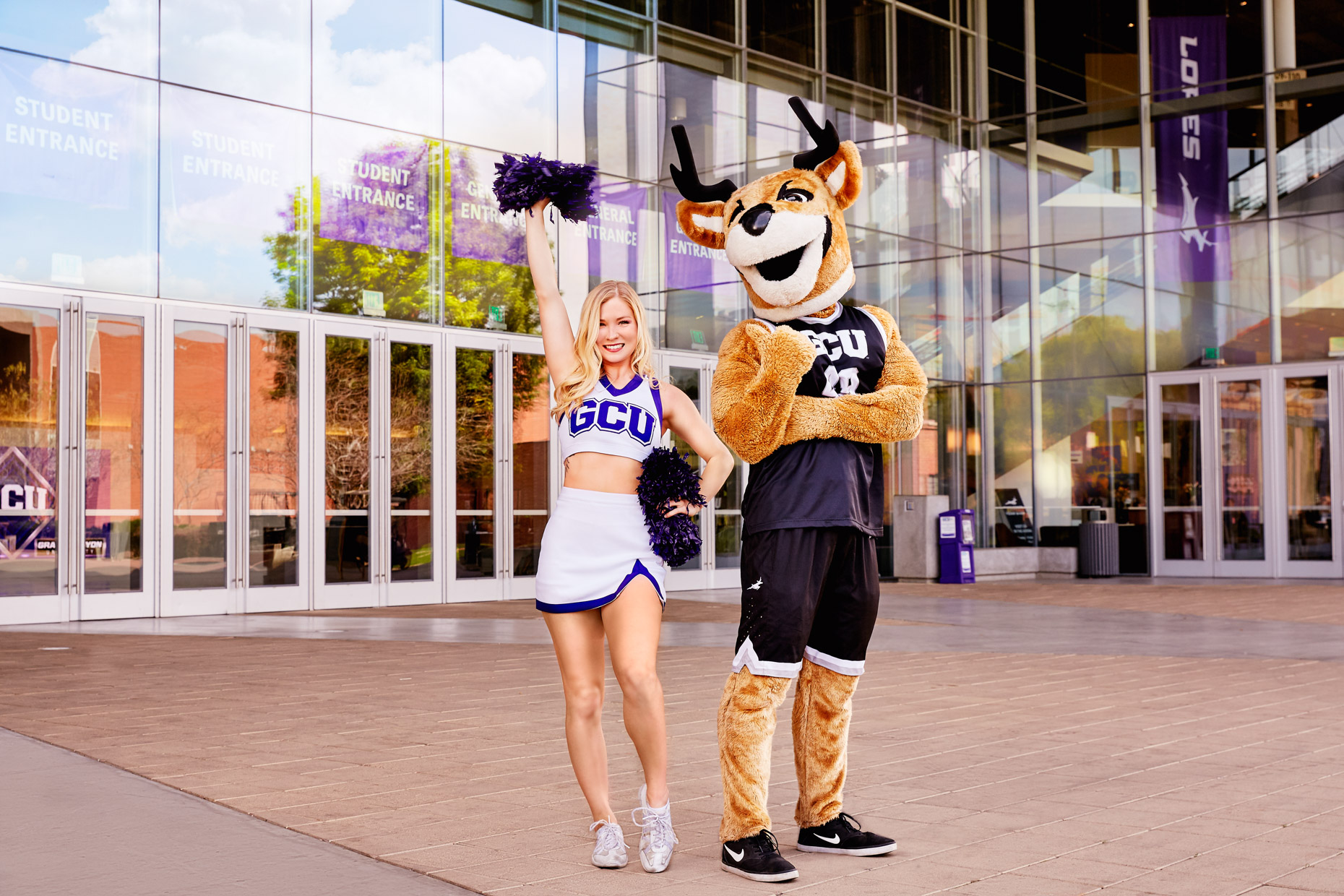 GCU Cheerleader