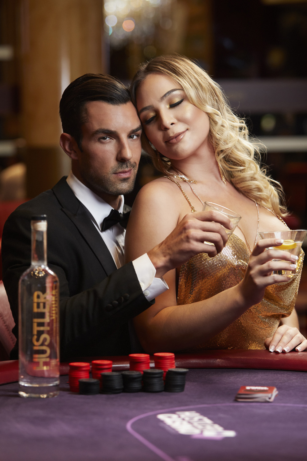 Hustler Vodka Couple